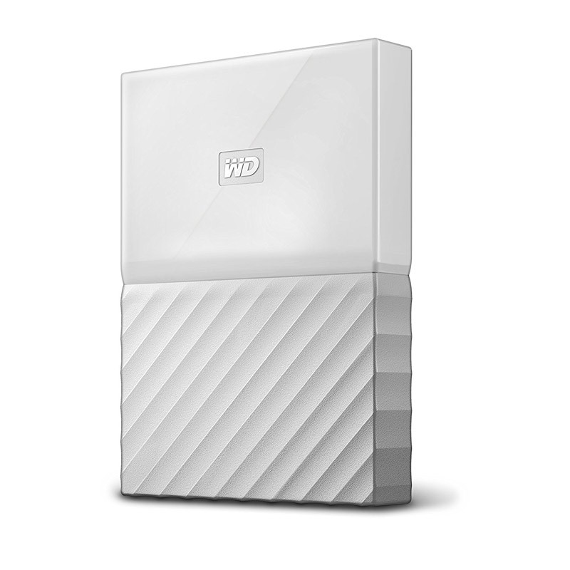 "2.5"" Disco Duro Externo 3TB WD My Passport Blanco"