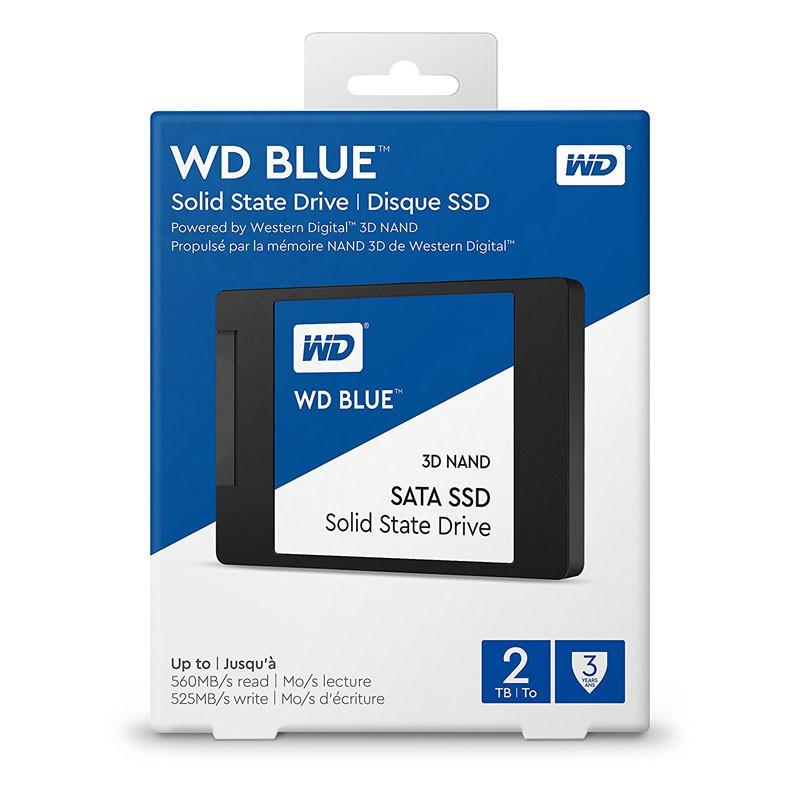 SSD 2TB WD Blue 3D NAND