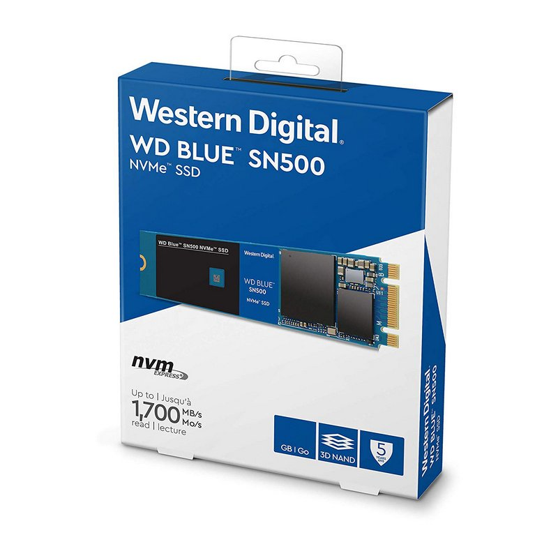 SSD M.2 NVMe 500GB Western Digital WD Blue SN500
