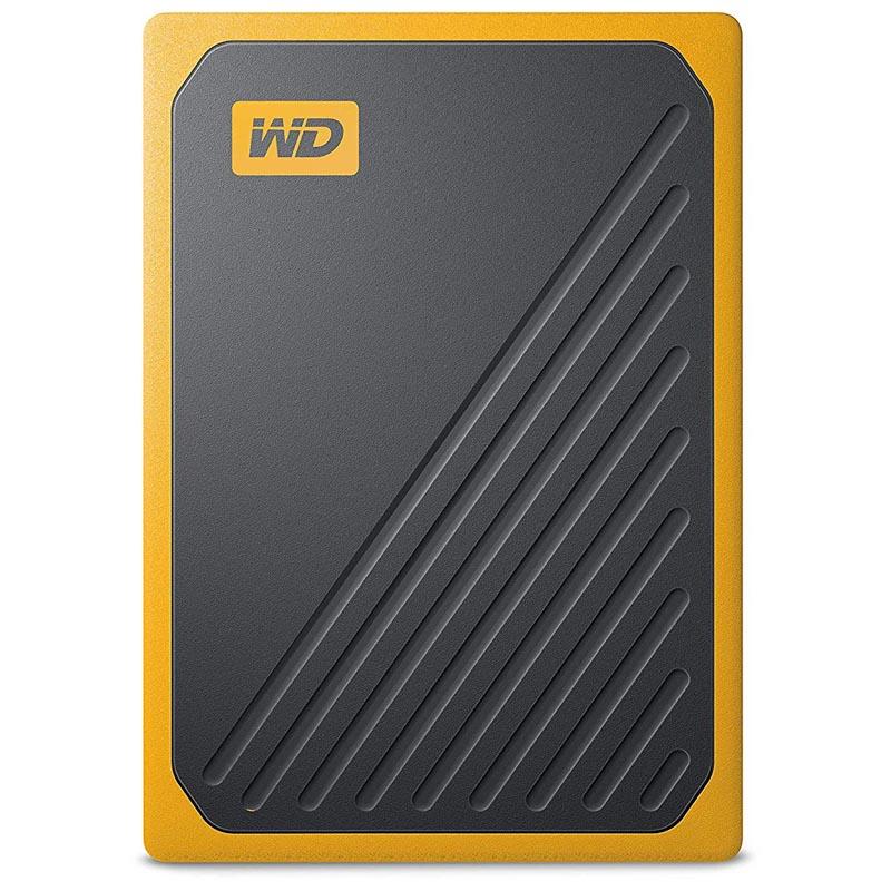 Disco Duro SSD Externo 500GB WD My Passport Amarillo