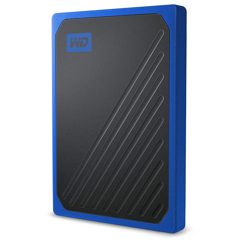 Disco Duro SSD Externo 500GB WD My Passport Azul