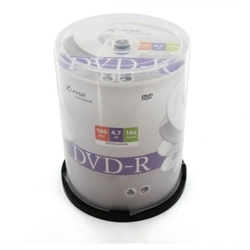 dvd-r-16x-xlayer-tarrina-100-uds, 16.24 EUR @ opirata