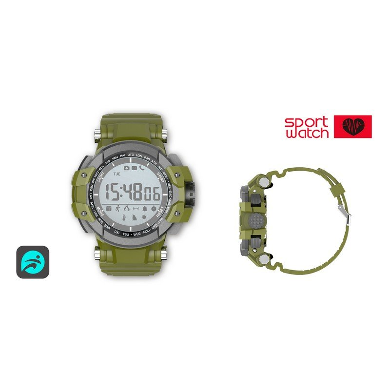 Smartwatch Billow XS15 Verde