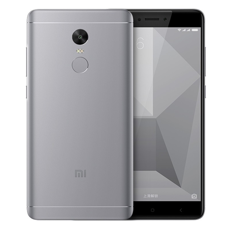 "Xiaomi Redmi Note 4X 5.5"" 3GB 16GB Gris"