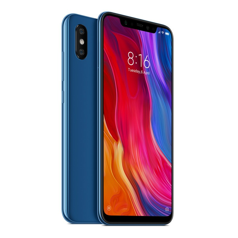 xiaomi-mi-8-6-21-6gb-128gb-azul, 482.92 EUR @ opirata