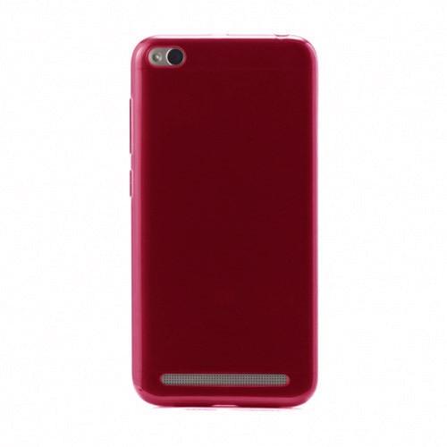 xiaomi-redmi-5a-funda-silicona-rojo