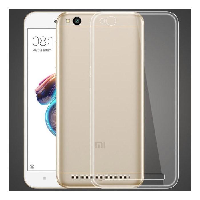 Xiaomi Redmi 5A Funda Silicona Transparente