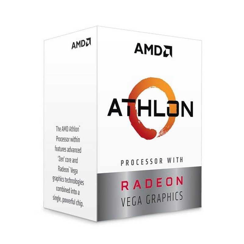 CPU APU AMD Athlon 240GE Radeon Vega 3 3.5GHz 5MB AM4