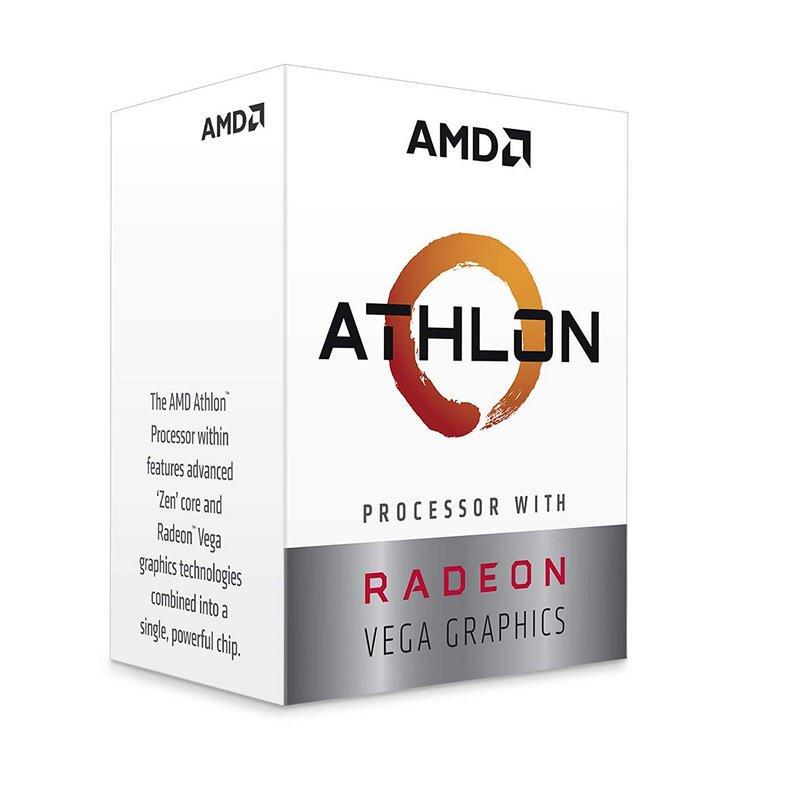 CPU APU AMD Athlon 3000G Radeon Vega 3 3.5GHz 5MB AM4