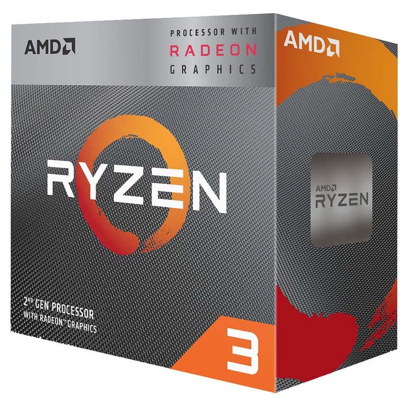 CPU AMD Ryzen 3 3200G Radeon Vega 8 3.6GHz 4MB AM4
