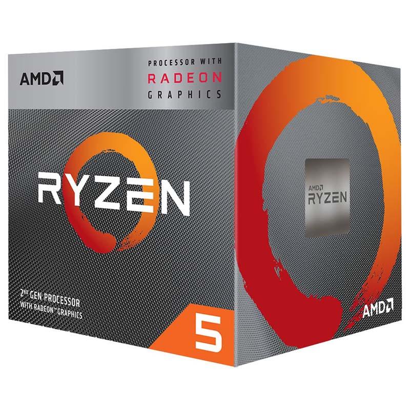 CPU AMD Ryzen 5 3400G Radeon RX Vega 11 3.7GHz 4MB AM4