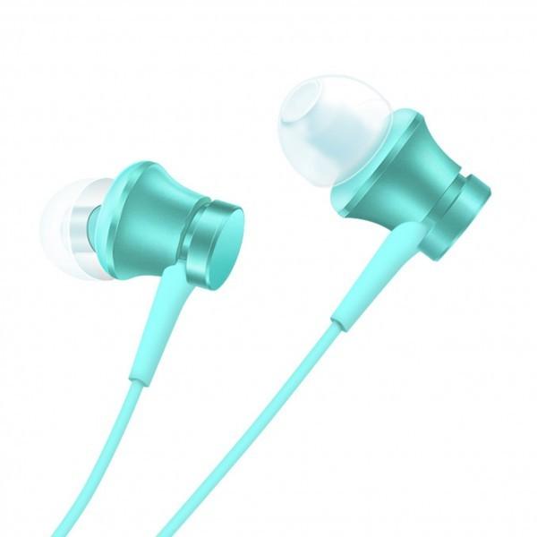 Auriculares con Micrófono Xiaomi Mi In-Ear Headphones Basic Azul