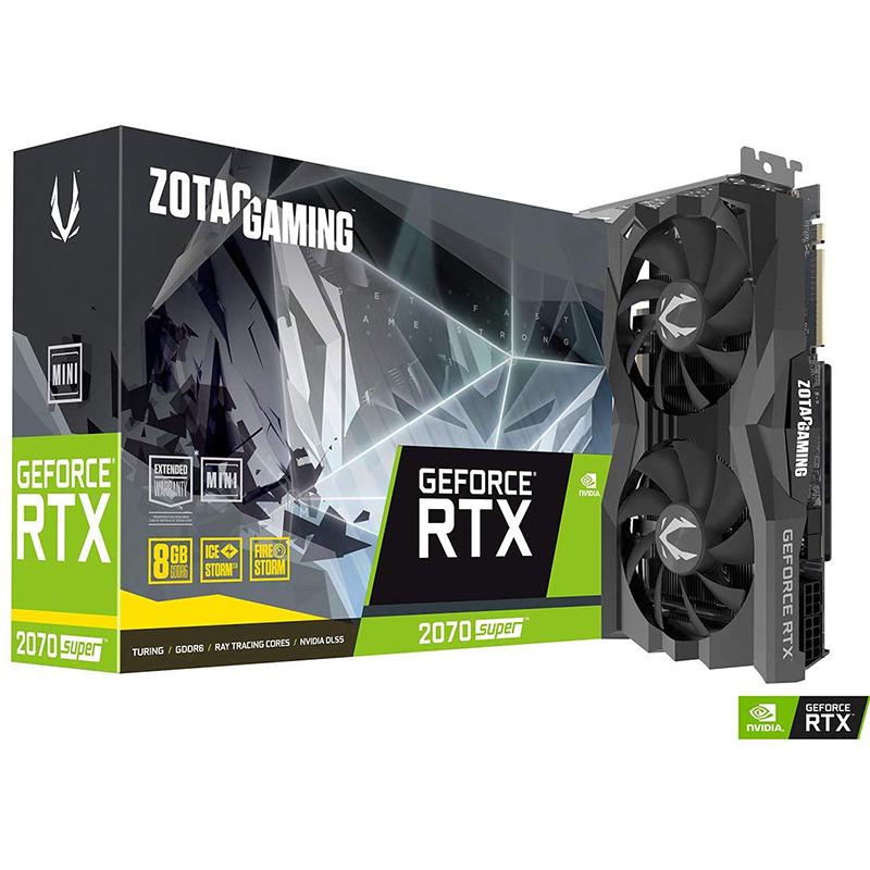 Tarjeta Gráfica Zotac GeForce RTX 2070 SUPER Mini 8GB GDDR6