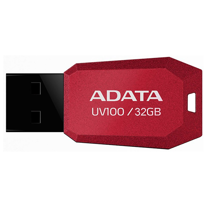Pendrive 32GB Adata UV100 USB 2.0 Rojo