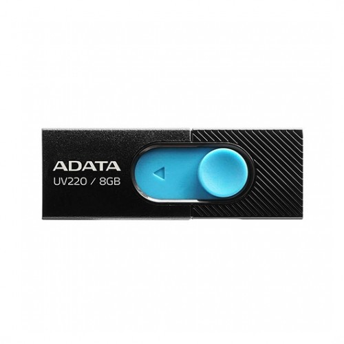 Pendrive 8GB Adata UV220 Negro/Azul