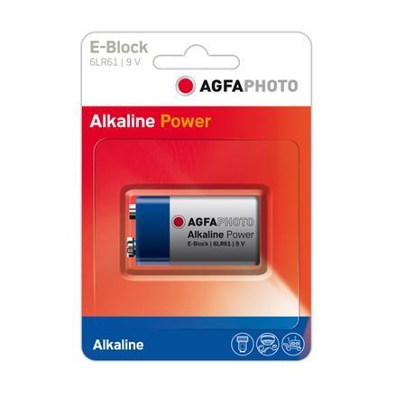 Pila alkalina 9v agfaphoto