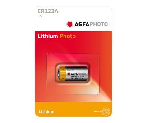 Pila de Litio 3V Agfaphoto (CR123A)