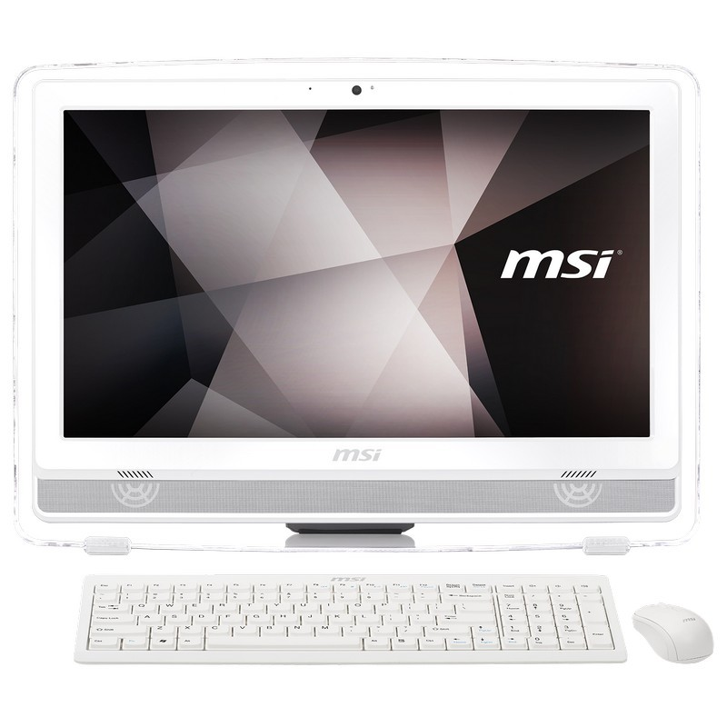 All in one msi pro 22et g4560 4gb 1tb 21.5` táctil blanco