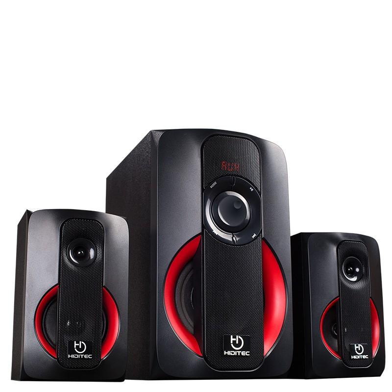 Altavoces 2.1 Hiditec H400 80W USB/SD Bluetooth Radio