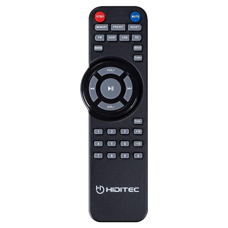 Altavoces 2.1 Hiditec H500 100W USB/SD Bluetooth Radio