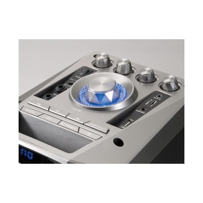 Altavoz Bluetooth Conceptronic Disco Gris