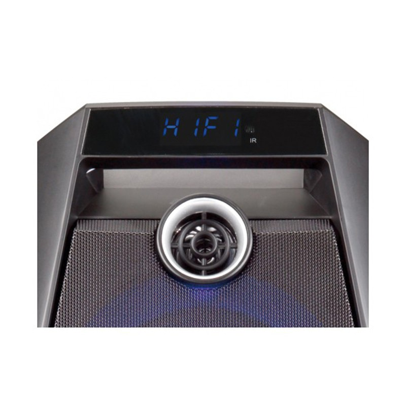Altavoz Bluetooth Conceptronic Disco Negro