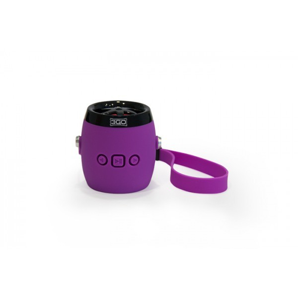 Altavoz Bluetooth Portatil 3Go Dampy Violeta
