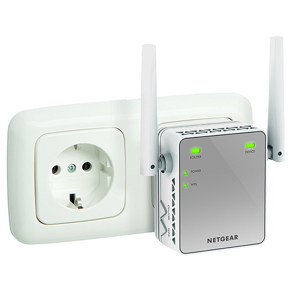 Amplificador WiFi Netgear EX2700-100PES N300 1xRJ45
