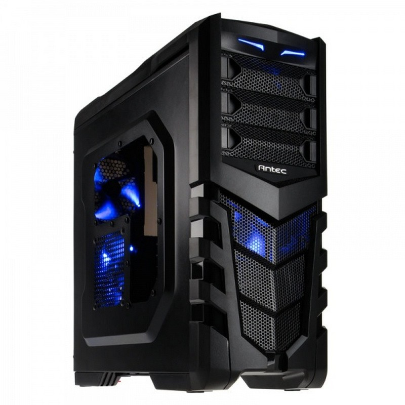 Caja PC ATX Antec GX505 LED Azul