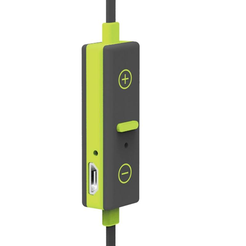 Auriculares Bluetooth Sport BT X-One ASBT1000GR con micrófono Verde