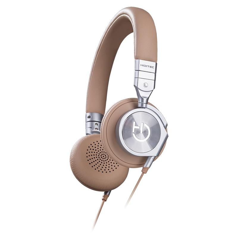 Auriculares con Micrófono Hiditec Aviator Camel