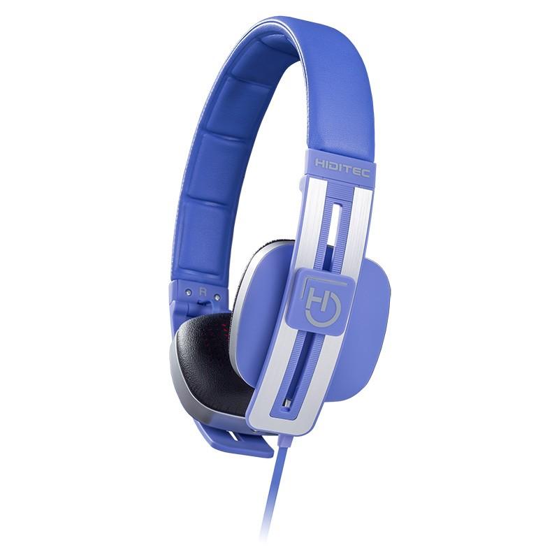 Auriculares con Micrófono Hiditec Wave Azul