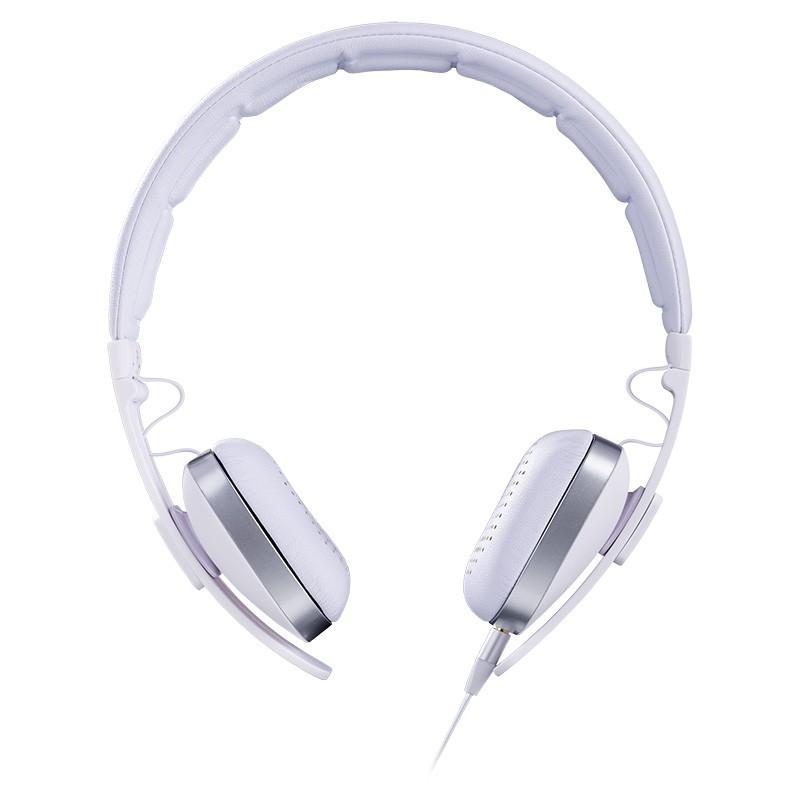 Auriculares con Micrófono Hiditec Wave Blanco