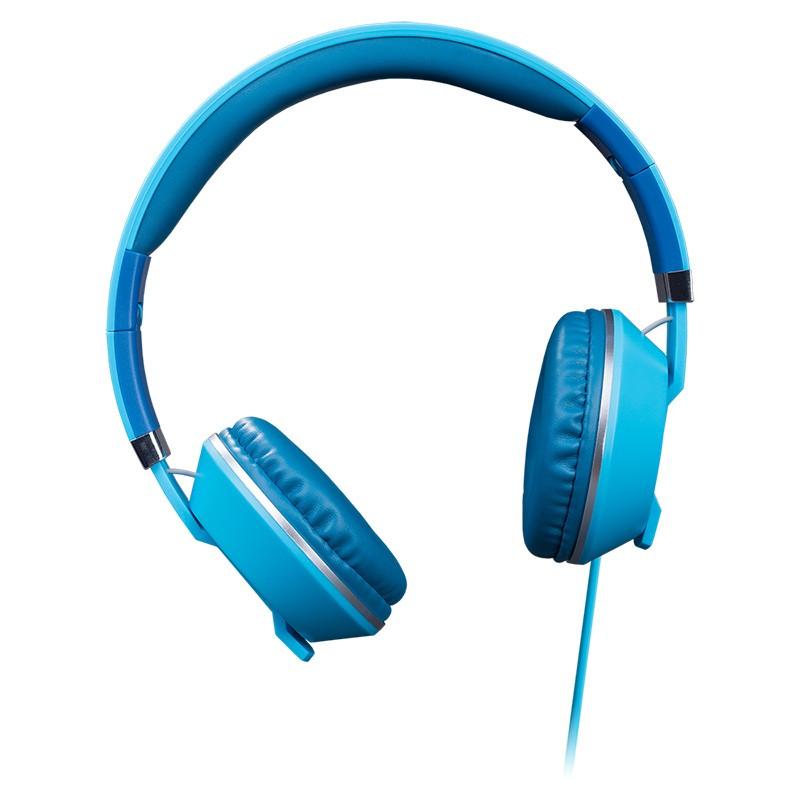 Auriculares con Micrófono Hiditec Cool Kids Azul Oscuro
