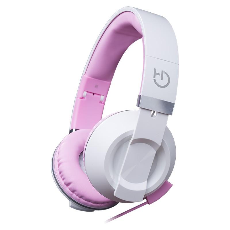 Auriculares con Micrófono Hiditec Cool Kids Rosa