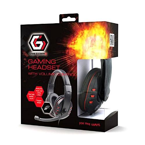 Auriculares Gaming Gembird GHS-402 con Micrófono