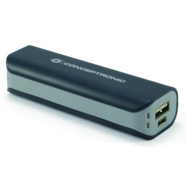Batería Universal PowerBank Conceptronic 2200mAh