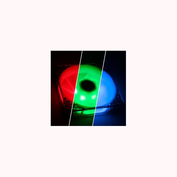 Ventilador de caja Bitfinex Spectre Pro RGB LED 120MM