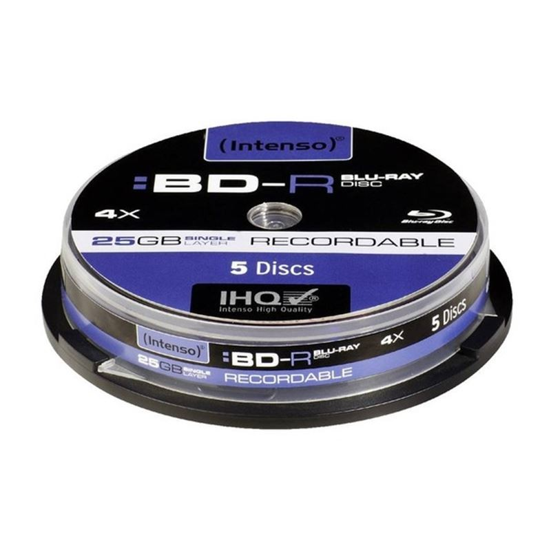 bluray-intenso-5001111-25gb-4x-pack-5-unidades