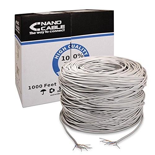 Cable de red rj45 cat.5e utp awg24 nanocable 10.20.0304 305mts