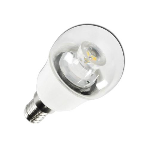 Bombilla LED Bajo Consumo 4W 3000K E27 (250lum) Serie C5-G45