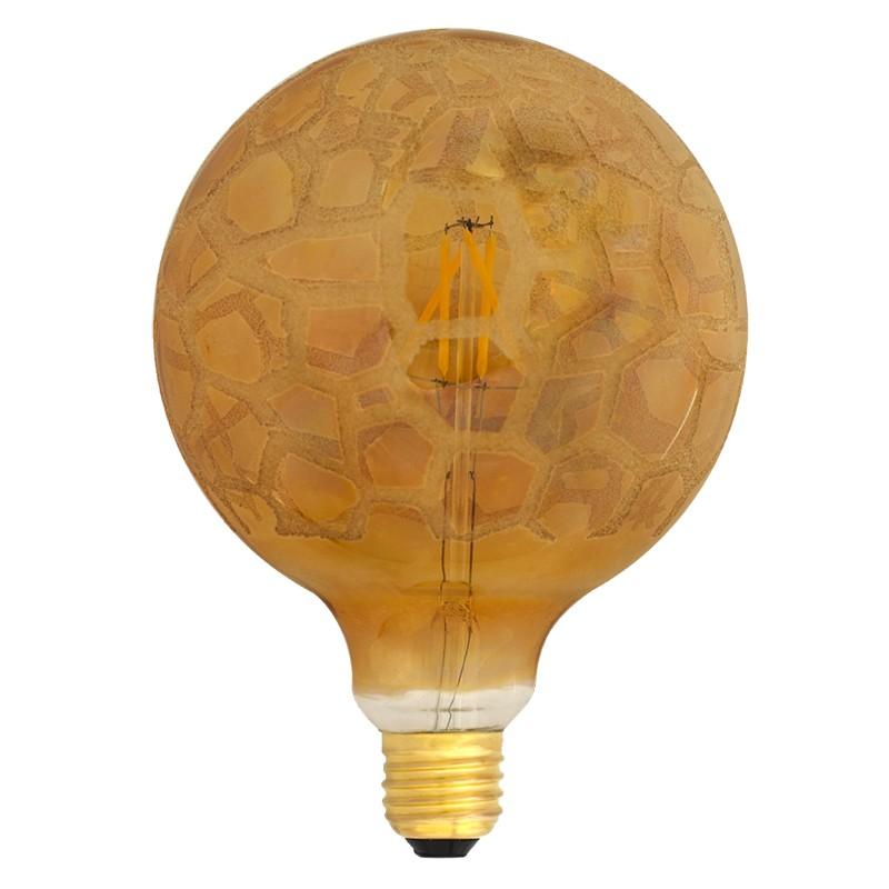 Bombilla Filamento LED E27 4W 2700K 420lm G125 Krokoeis