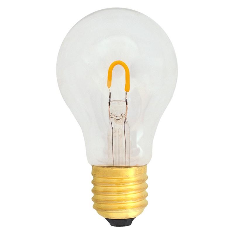 Bombilla Filamento LED E27 1W 2400K 90lm A19