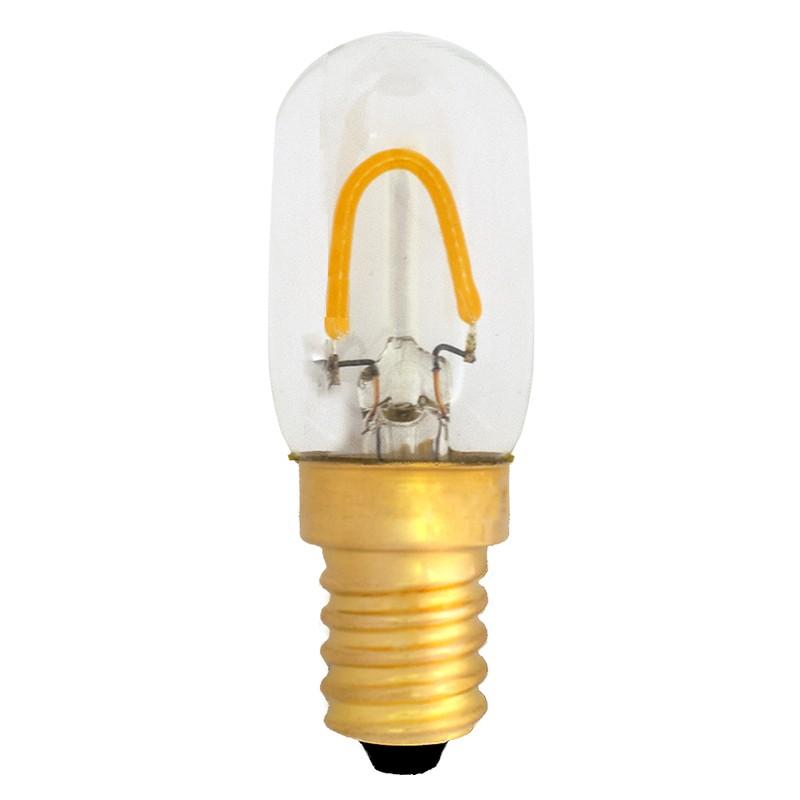 Bombilla Filamento LED E14 1W 6500K 100lm T22