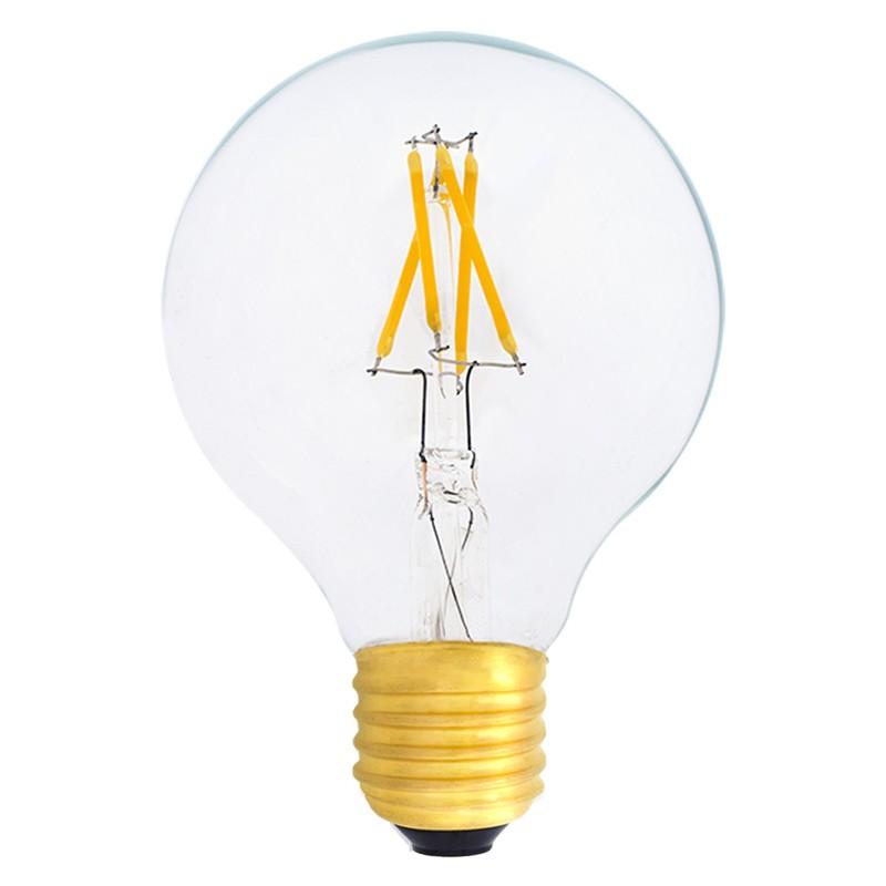 Bombilla Filamento LED E27 4W 2700K 420lm G80