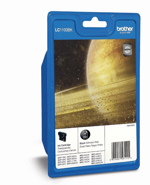 Brother LC1100BK Cartucho de Tinta Original Negro