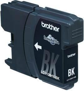 Brother LC1100HYBK Cartucho Tinta Original Larga Duración Negro