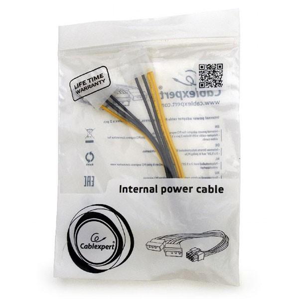 Cable adaptador 2 Molex a 8 pin PCI Gembird CC-PSU-81 15cm