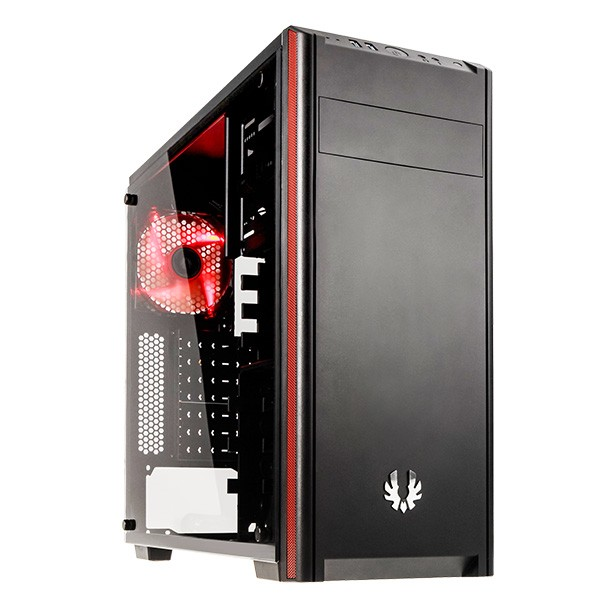 Caja PC ATX BitFenix Nova TG Con Ventana Negra
