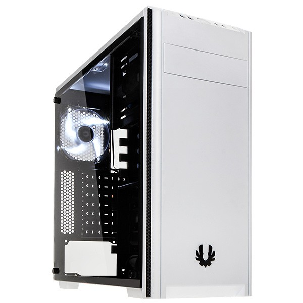 Caja PC ATX BitFenix Nova TG Con Ventana Blanca